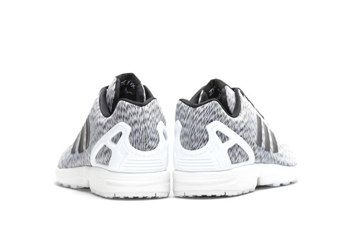 Adidas Zx Flux White Static Print 1