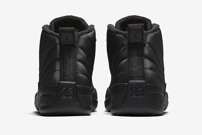 Air Jordan 12 Winterized Triple Black Official 5
