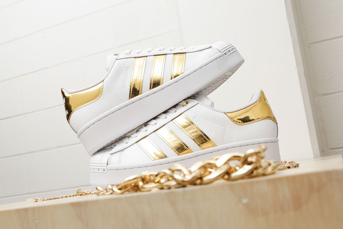 Adidas Metallic Gold Pack Superstar 50Th Anniversary Jd Sports Exclusive Hero6