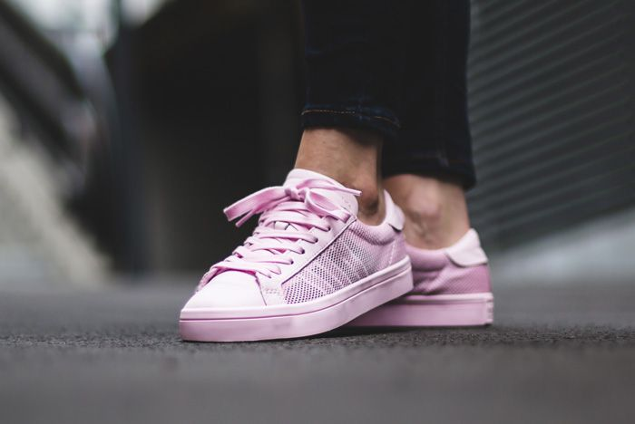 Adidas Court Vantage Clear Pink2
