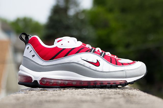 Nike Air Max 98 University Red 9