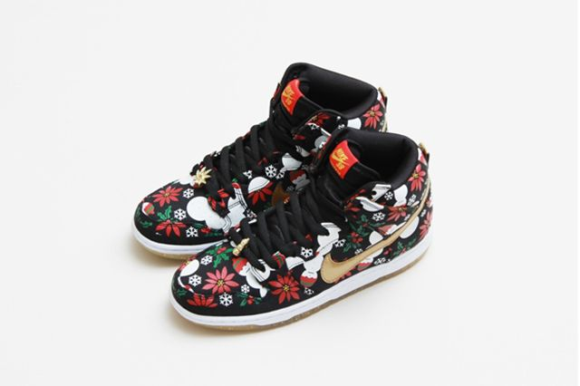 Concepts Nike Sb Dunk High Ugly Christmas Sweater