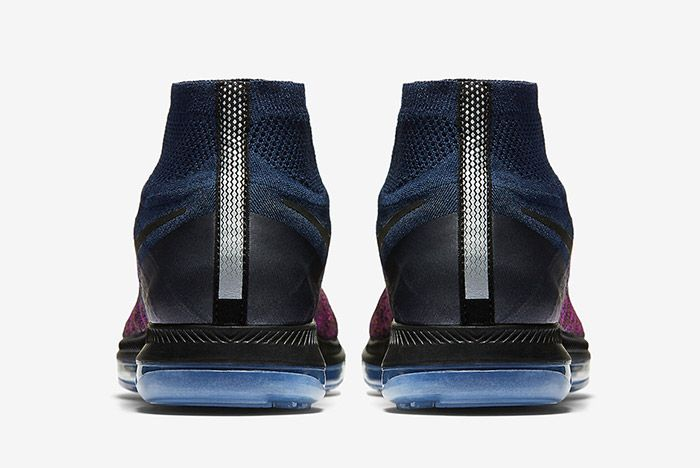 Nike Zoom All Out Flyknit Navy Purple 2