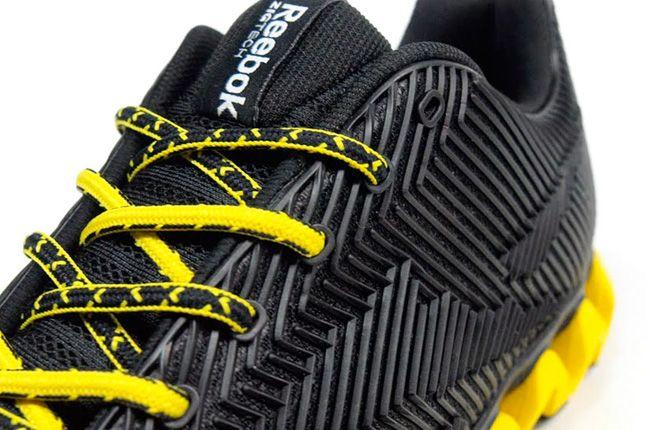 Reebok Zigmaze Toe Black Yellow 1
