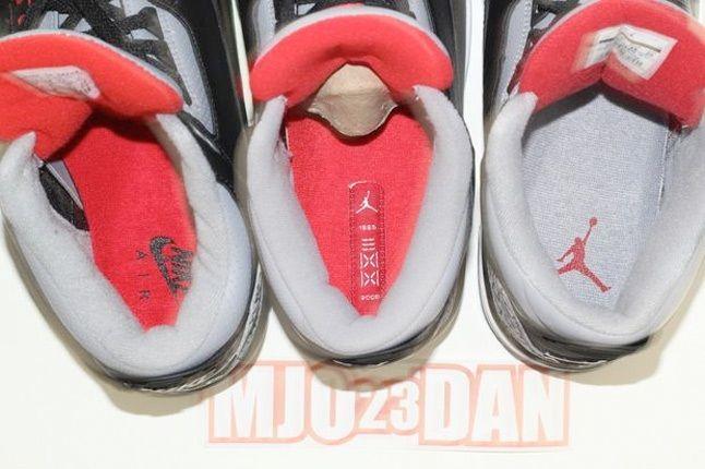 Air Jordan Iii Comparison 5 1
