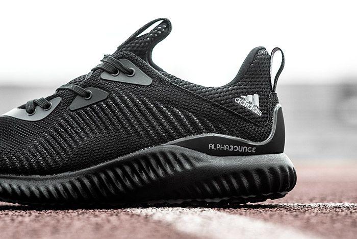 Adidas Alphabounce Triple Black 4