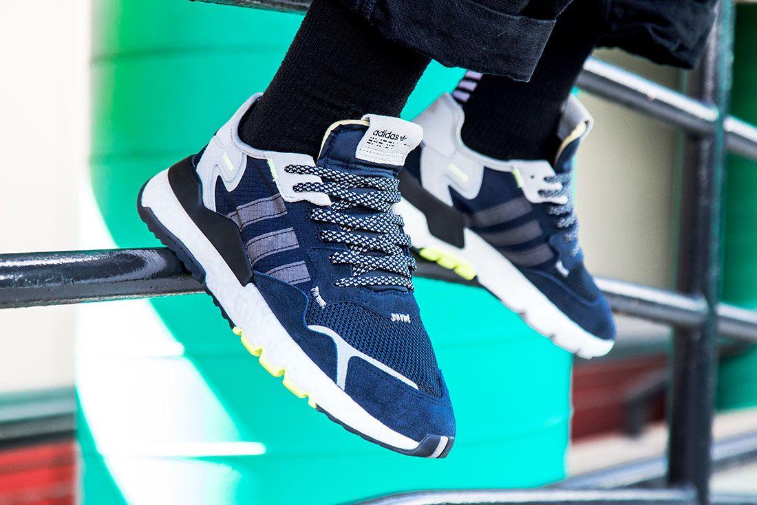 Adidas Nite Jogger Navy Left