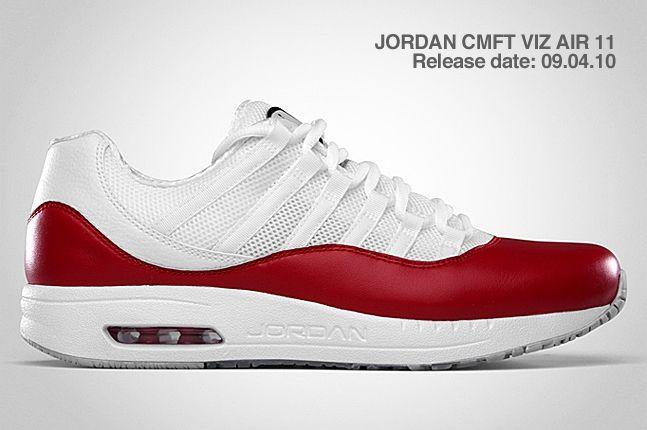 Jordan Cmft Viz Air 11 Red 2