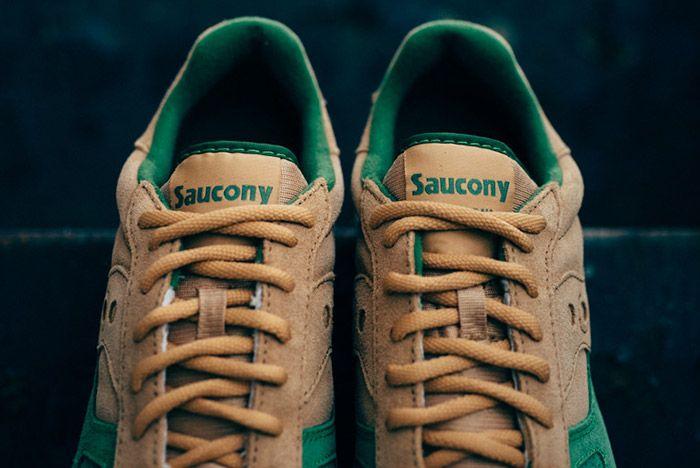 Saucony Shadow Original Tan Green 4