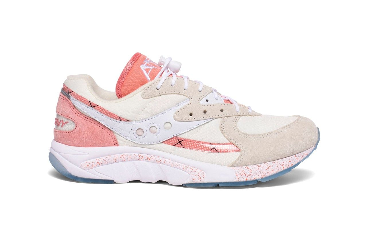 Saucony Aya Peaches and Cream Right