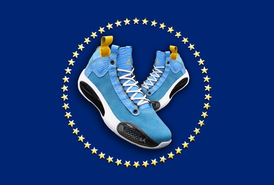 Ceeze x Sneaker Politics Air Jordan 34 'Countdown'