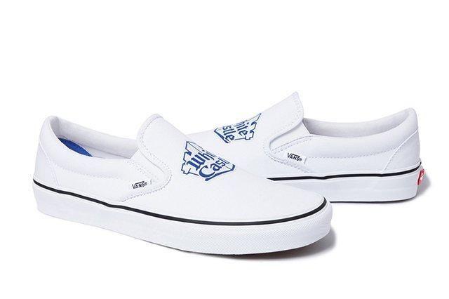 Supreme X White Castle X Vans Slip On