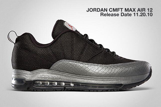 Jordan Cmft Max Air 12 Silver 1
