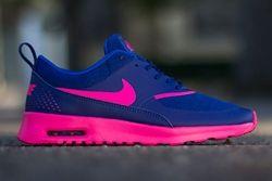 Nike Wmns Air Max Thea Deep Royal Blue Hyper Pink Thumb