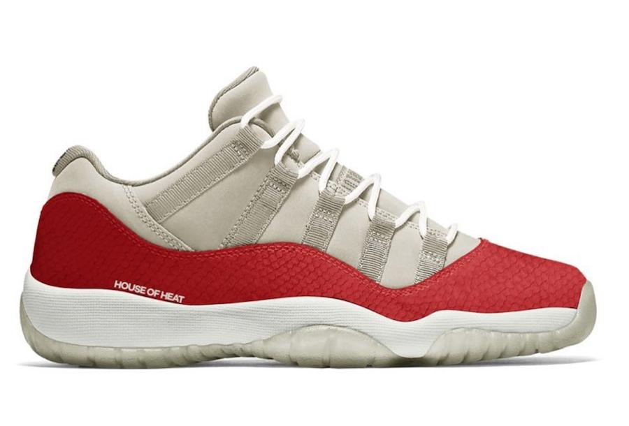 Air Jordan 11 Low Snakeskin Light Bone Cd6846 002 1 Sneaker Freaker