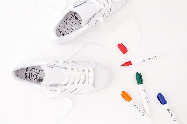 Adidas Superstar 80S Gonz White