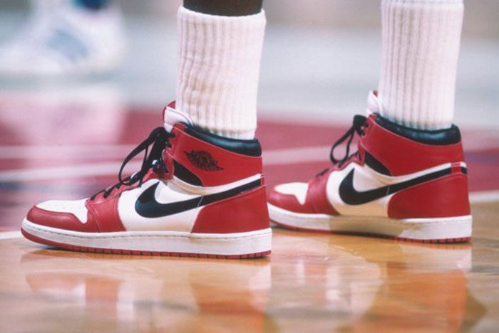 Air Jordan 1 Chicago On Foot