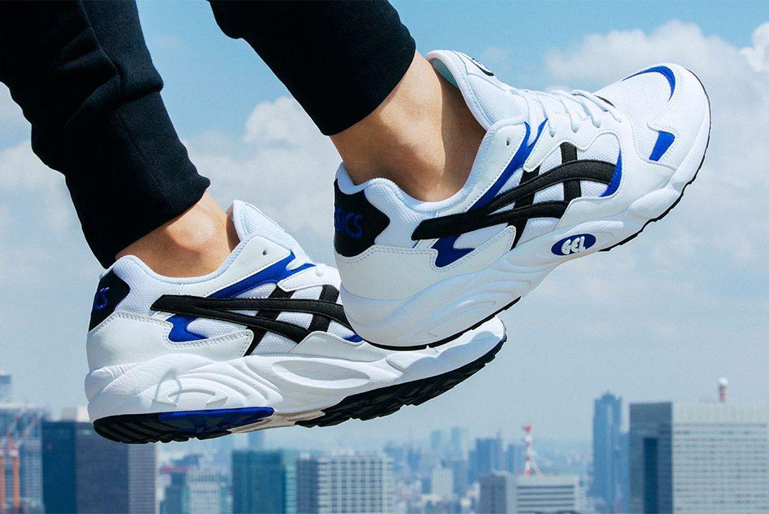Asics Gel Diablo Og White Blue Sneaker Freaker