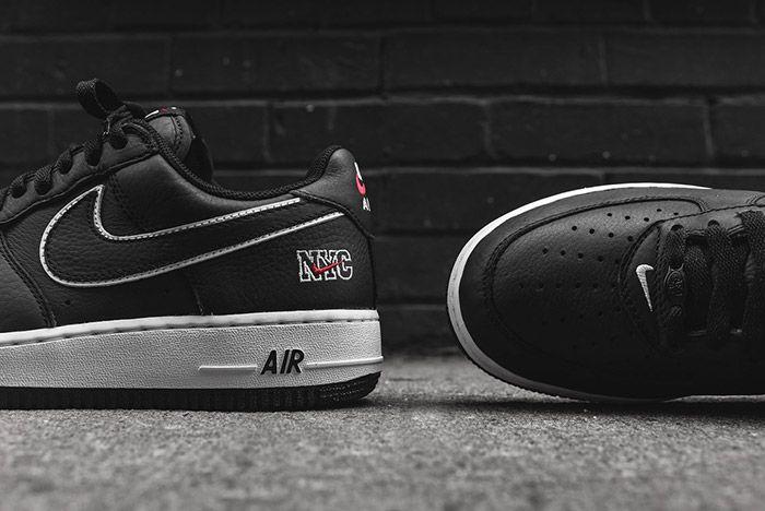 Nike Air Force 1 Low Nyc Black 6