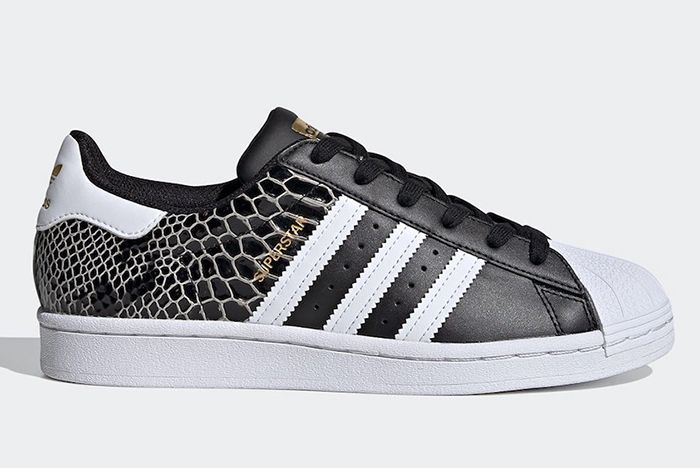 Adidas Superstar Snakeskin Fv3327 Lateral