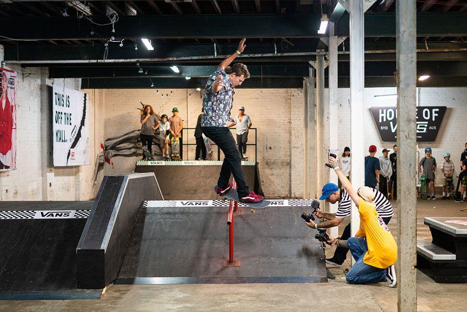 Sydney House Of Vans Skating