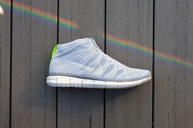 Nike Free Flyknit Chukka Wolf Grey