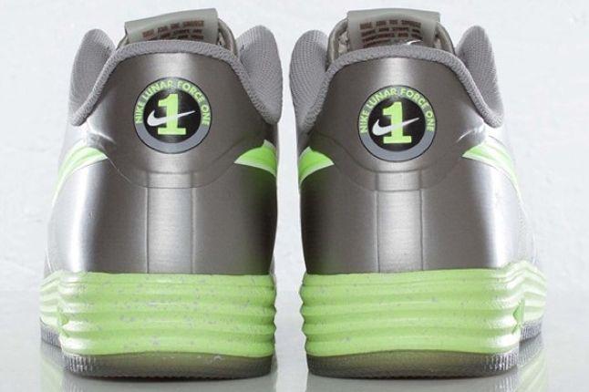 Nike Lunar Force 1 Fuse Granite Volt Heels 1