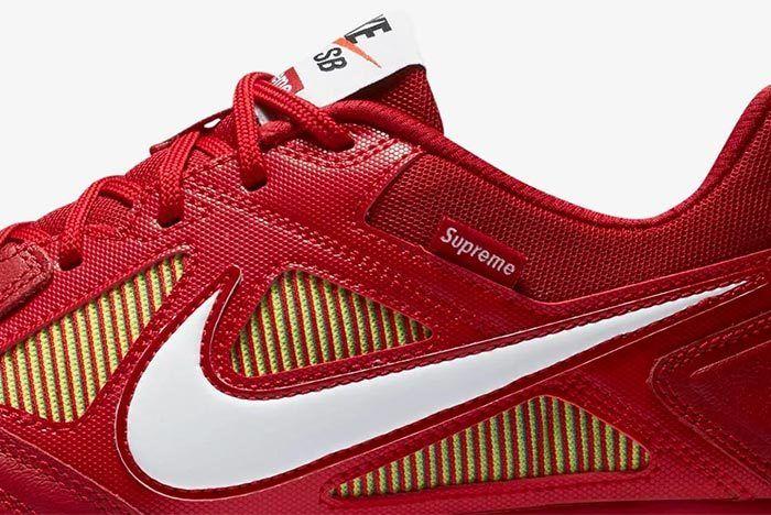 Supreme X Nike Sb Lunar Gato 4