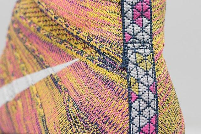 Nike Free Flyknit Chukka Pink Yellow Midnight Navy 06