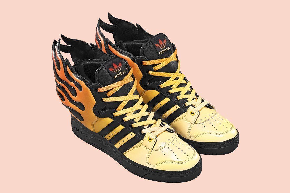 Adidas Jeremey Scott Flames