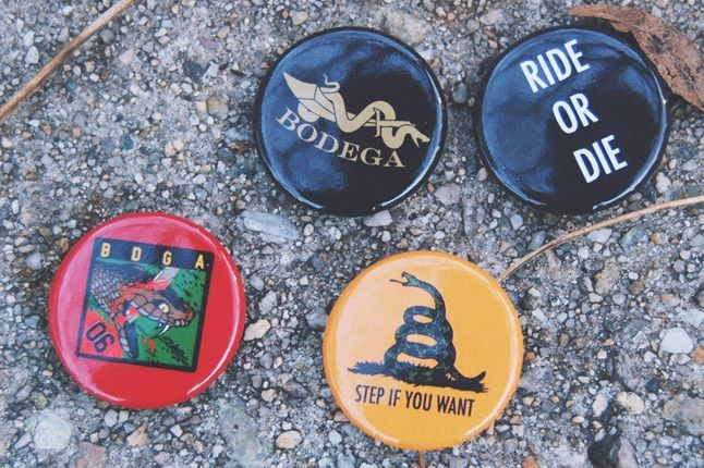 Converse X Bodega Badge Pins 1