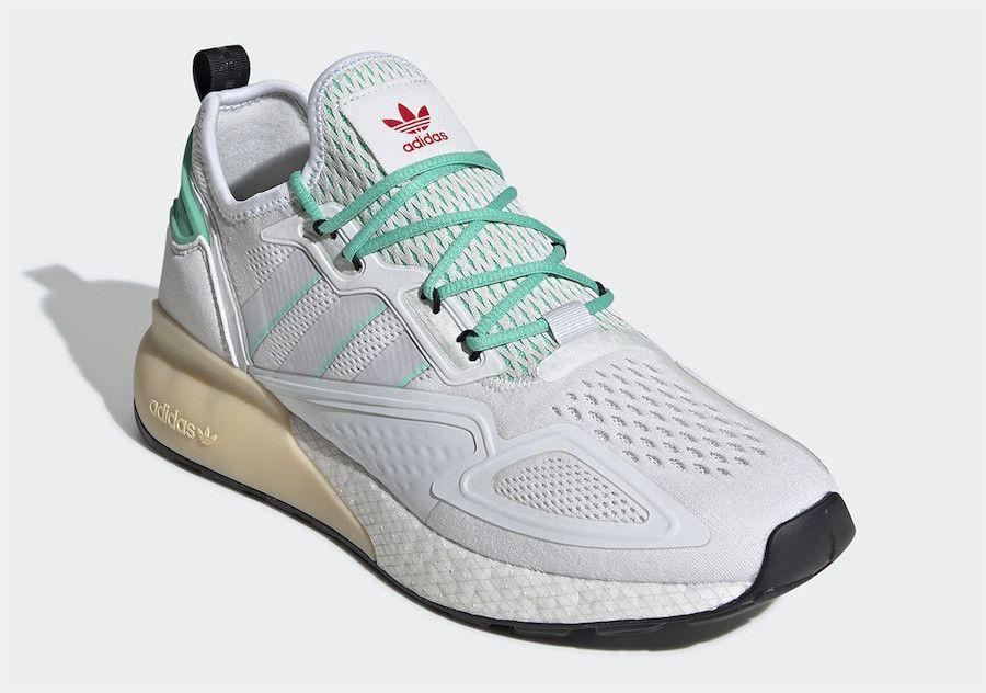 adidas ZX 2K BOOST Hi-Res Green Right