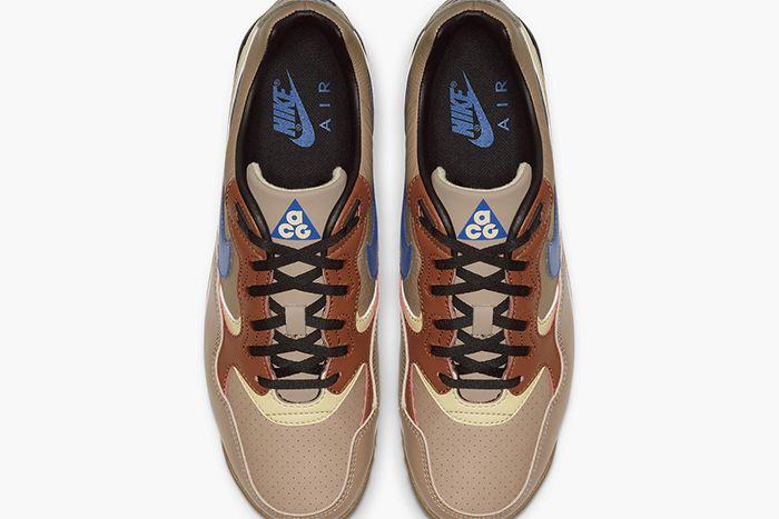 Nike Acg Air Wildwood Premium Brown Release Date Top Down