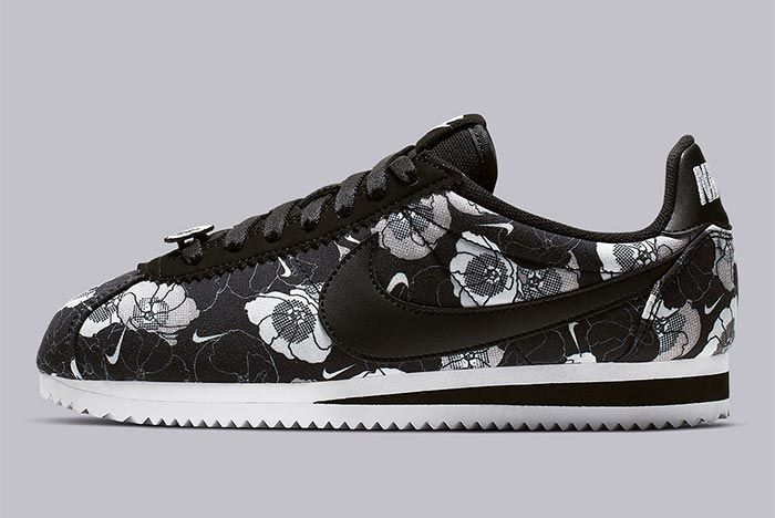 Nike Cortez Av1338 001 Floral Pack Womens Side Shot 2