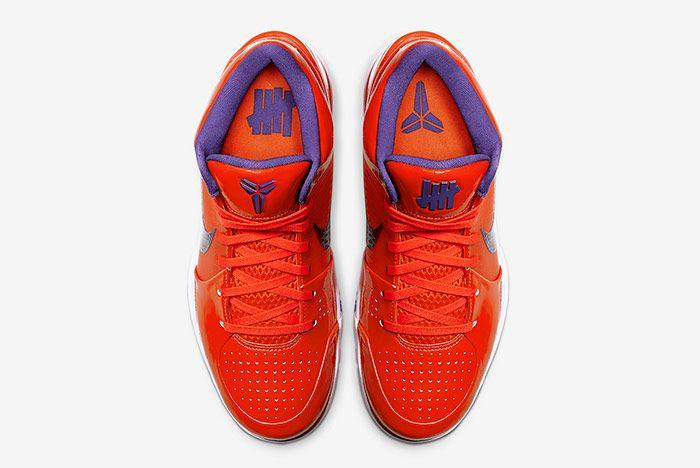 Undefeated Nike Kobe 4 Protro Suns Top