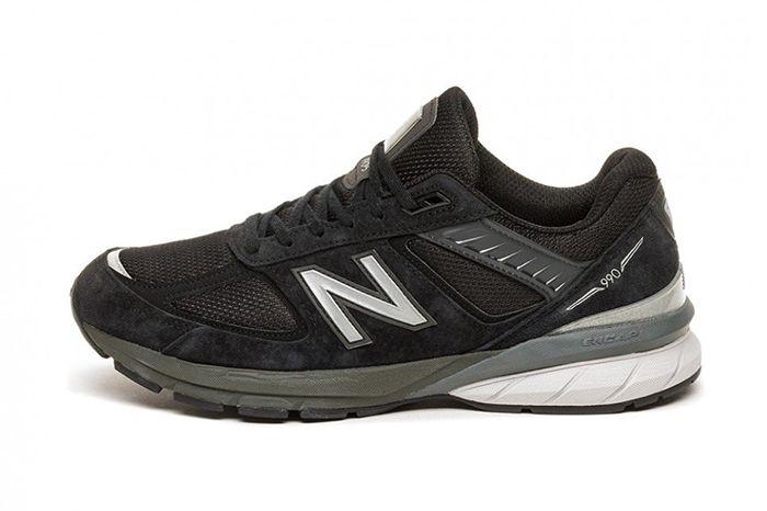 New Balance 990V5 Black M990Bk5 Release Date Lateral