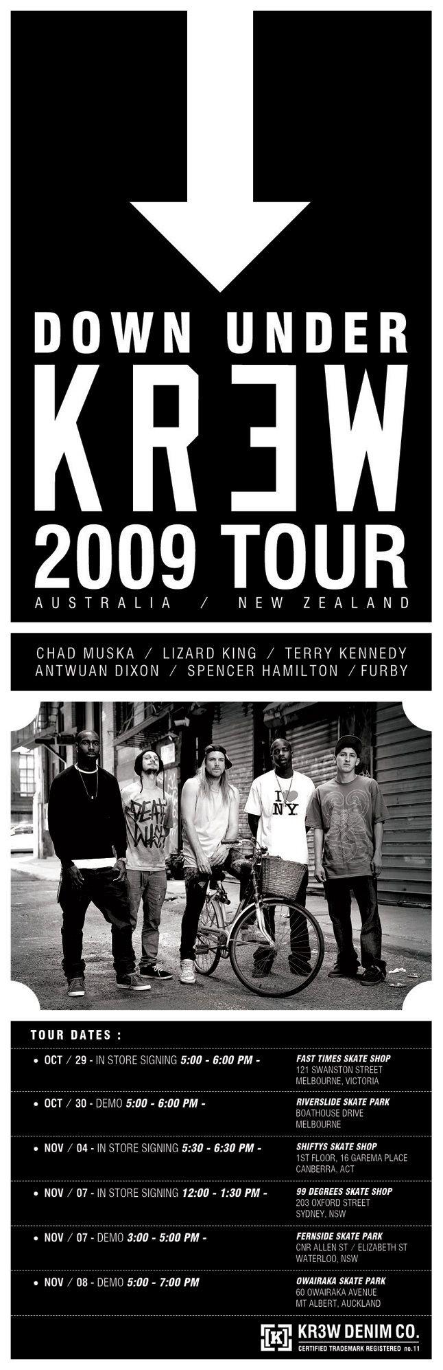 Krew Flyer Aus Tour 646 1