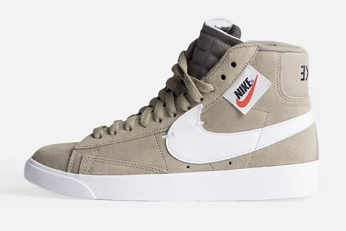 Nike Blazer Mid Rebel Womens Olive Bq4022 201 2