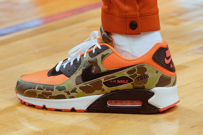 Nike Air Max 90 Reverse Duck Camo Cw6024 600 Release Date On Foot Leak