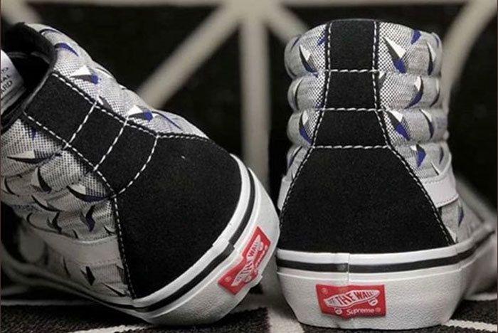 Supreme X Vans Sk8 Hi Ss19 Sneaker Freaker2