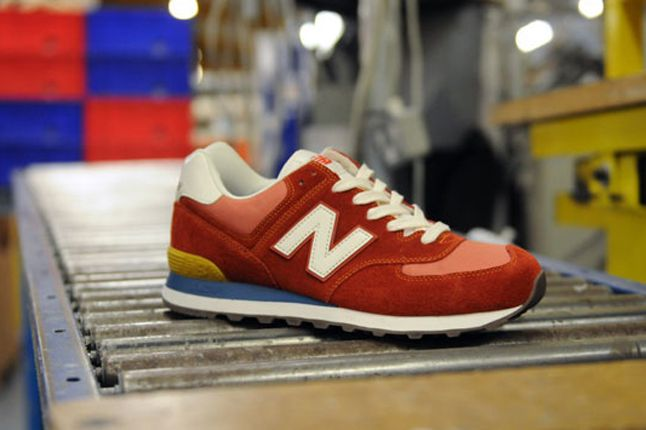 New Balance 574 Pack Size Exclusive Red 1