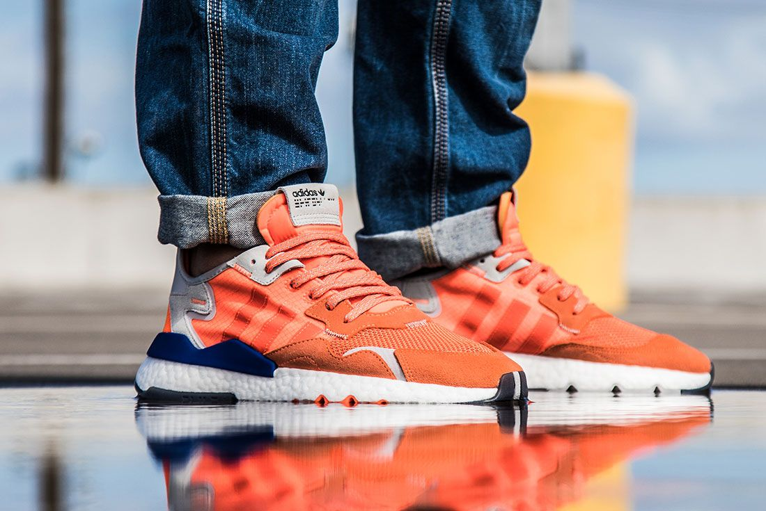 Adidas Nite Jogger Orange Right