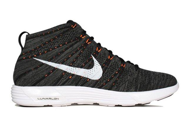 Nike Flyknit Chukka Orange Zest Profile 1