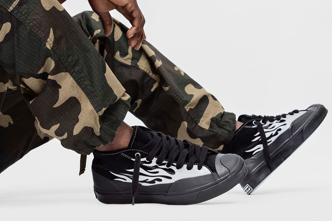 Converse Asap Nast Converse Jack Purcell Mid Chukka Black Lateral Sdie Shot