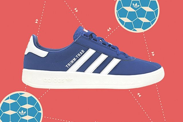 Adidas Trimm Tab Blue