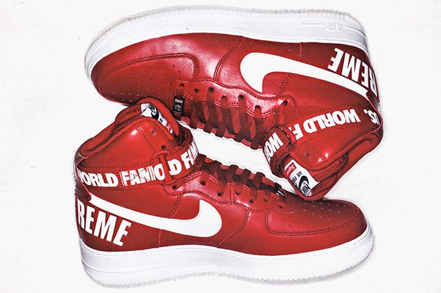Supreme Nike Air Force 1 Hi Pack 2 960X640