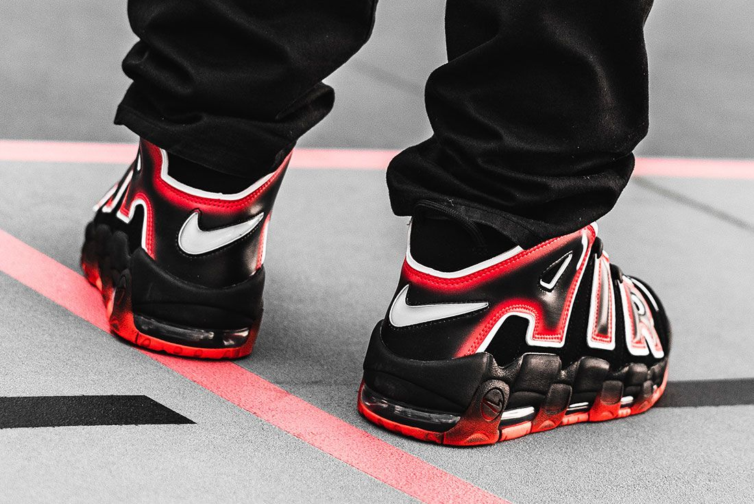Nike Air More Uptempo 96 Laser Crimson 6