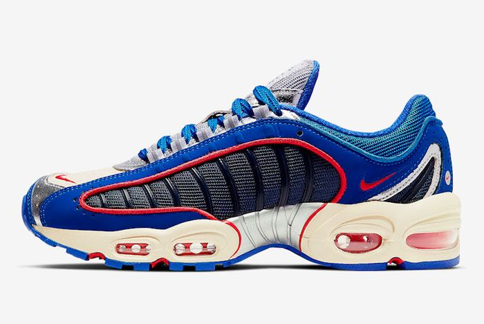 Nike Air Max Tailwind 4 Solar Blue Lateral Side