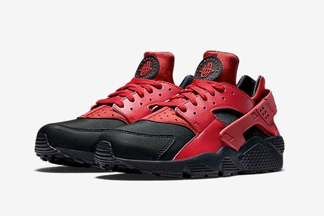 Nike Huarache Gym Red Black 1