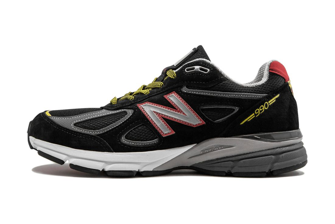 Dtlr New Balance 990V4 Dmv Black Lateral